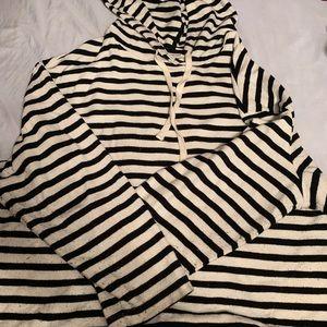 Striped hoodie 4X Ava and Viv